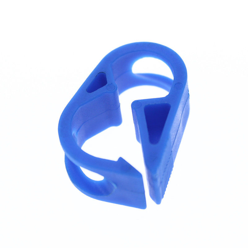 Disposable Medical plastic hose tubing pinch clip Robert Clamp